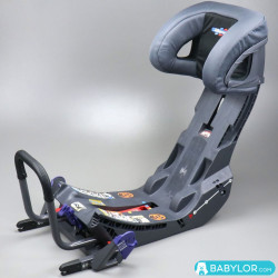 KISS 2 EXTRA BASE ISOFIX Charcoal techy
