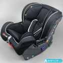 Car seat Klippan Cosy Kiss 2 Plus freestyle (black and grey)