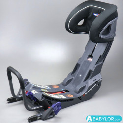 Klippan base Isofix Kiss 2 Plus, freestyle (gris y negro)