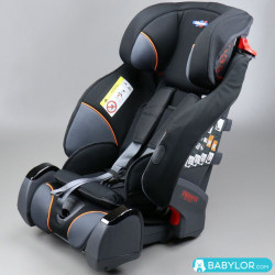 Klippan Triofix Recline black orange (noir et orange)