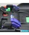 Car seat Klippan Dinofix black and grey with Isofix base