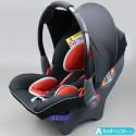 Silla de coche Klippan Dinofix negro y rojo