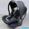Car seat Klippan Dinofix (black and light grey)