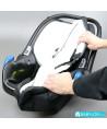 Easygo Starter carbon avec base Isofix noire