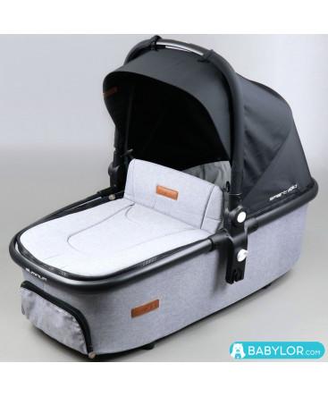 Easygo Optimo Air Carrycot grey fox