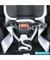 Siège auto Klippan Cosy Kiss 2 Plus freestyle (noir et gris) avec base Isofix et appui-tête