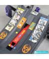Siège auto Klippan Cosy Kiss 2 Plus (noir et orange) con base Isofix et appui-tête