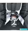 Silla de coche Klippan Kiss 2 Plus beige con base Isofix y reposacabezas