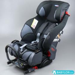 Kindersitz Klippan Triofix Recline sport (grau und schwarz) mit Isofix-Befestigung