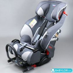 Kindersitz Triofix Recline match race (grau) mit Isofix-Befestigung