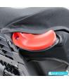 Siège auto Klippan Triofix Recline (noir et orange) avec base Isofix