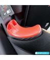 Silla de coche Klippan Triofix Maxi con base Isofix naranja y negro