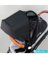 Easygo Optimo Air Stroller grey fox
