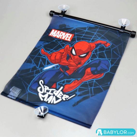 Pare-soleil rétractable Marvel Spiderman