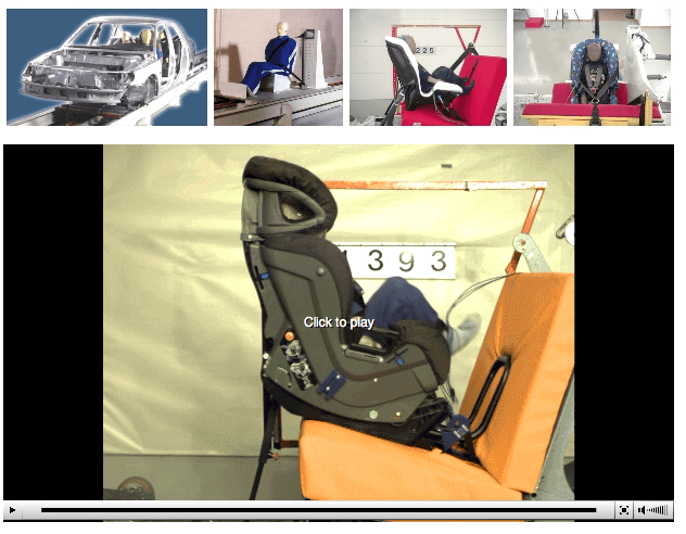 Test With Car Seats And Ambulance Equipment Their Attachments For Example Stretchers First Aid Bags We Can Also Make Special Tests