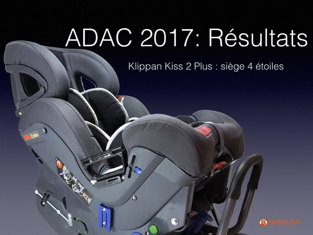 Crash test ADAC Kiss 2 Plus 2017-2018